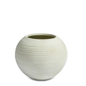 Curved Bowl White