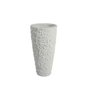 Lava Vase White