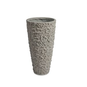 Lava Vase Grey
